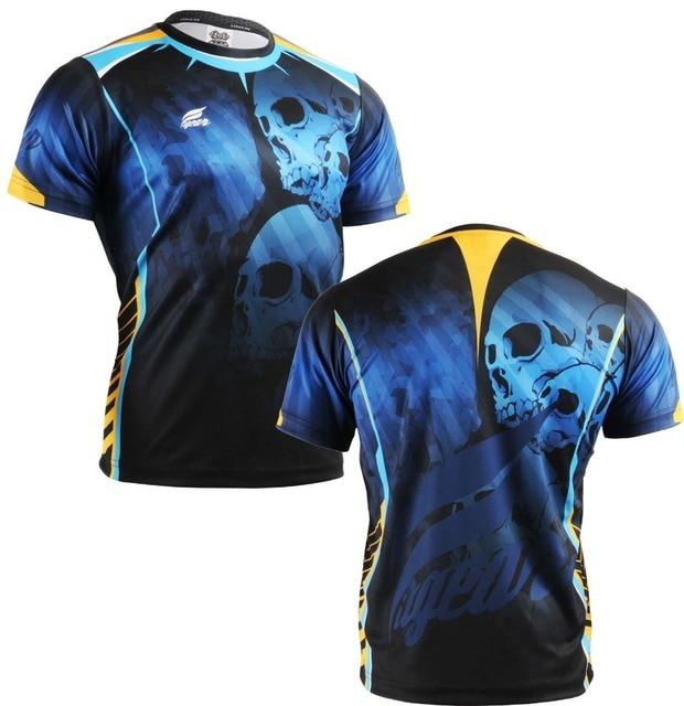 {No. RM-5302} FIXGEAR Tennis Golf T-Shirts Custom Design Printing Men's Sports Tee Crew Neck Short Casual T-shirts S~XXXL