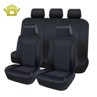 ROWNFUR Artificial Leather Car Seat Cover Fit Cars Seat Protector Cubre Asientos Para Automovil Universales Fashion Seat Covers