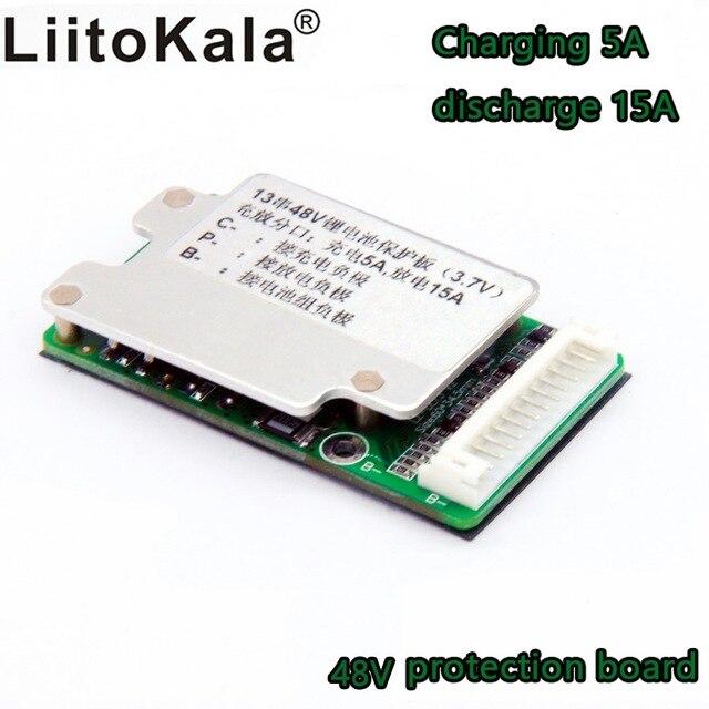 Батарея для электронного велосипеда 13 s 48 V, литий-ионные элементы 40A 18650, Защита аккумулятора, баланс печатной платы bms