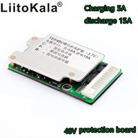 E-Bike Battery 13 s 48 V Lithium Ion Cells 40A 18650 Battery Protection bms printed circuit board balance