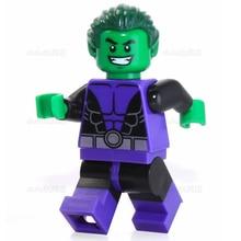 SingleSale Beast Boy DC Justice League Batman Black Manta Super Heroes Building Blocks Action Figures Minifigures Kids Toys