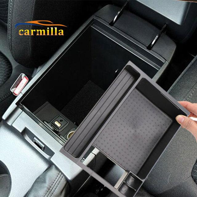 Interior Del Coche Apoyabrazos Guantera Caja de Almacenamiento de Particiones Caja de Bandeja 1 unid Para Mazda Nuevo CX-5 CX5 2015 2016 Accesorios Del Coche styling