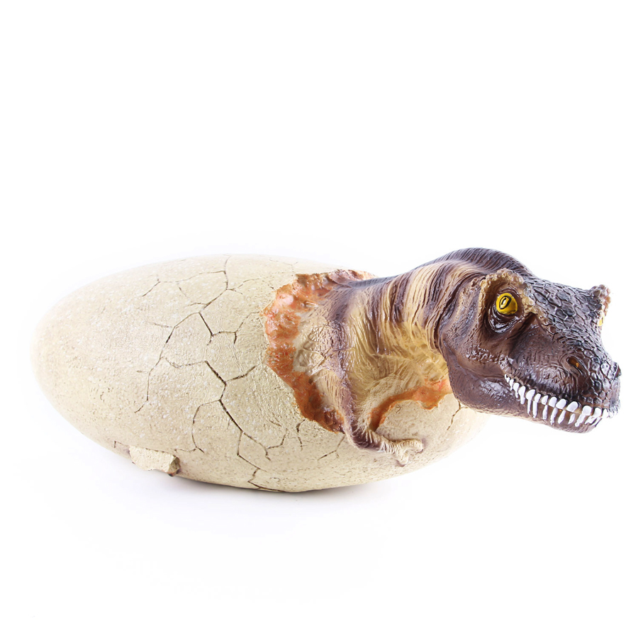 Creative T rex Broken Shell Dinosaur Egg Fossil Resin Crafts Handicraft Art Model Home Decoration