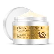 цена на 25g Anti Wrinkle Snail Essence Face Cream Hyaluronic Acid Anti-Aging Moisturizing Nourishing Collagen Serum Skin Care Lotion