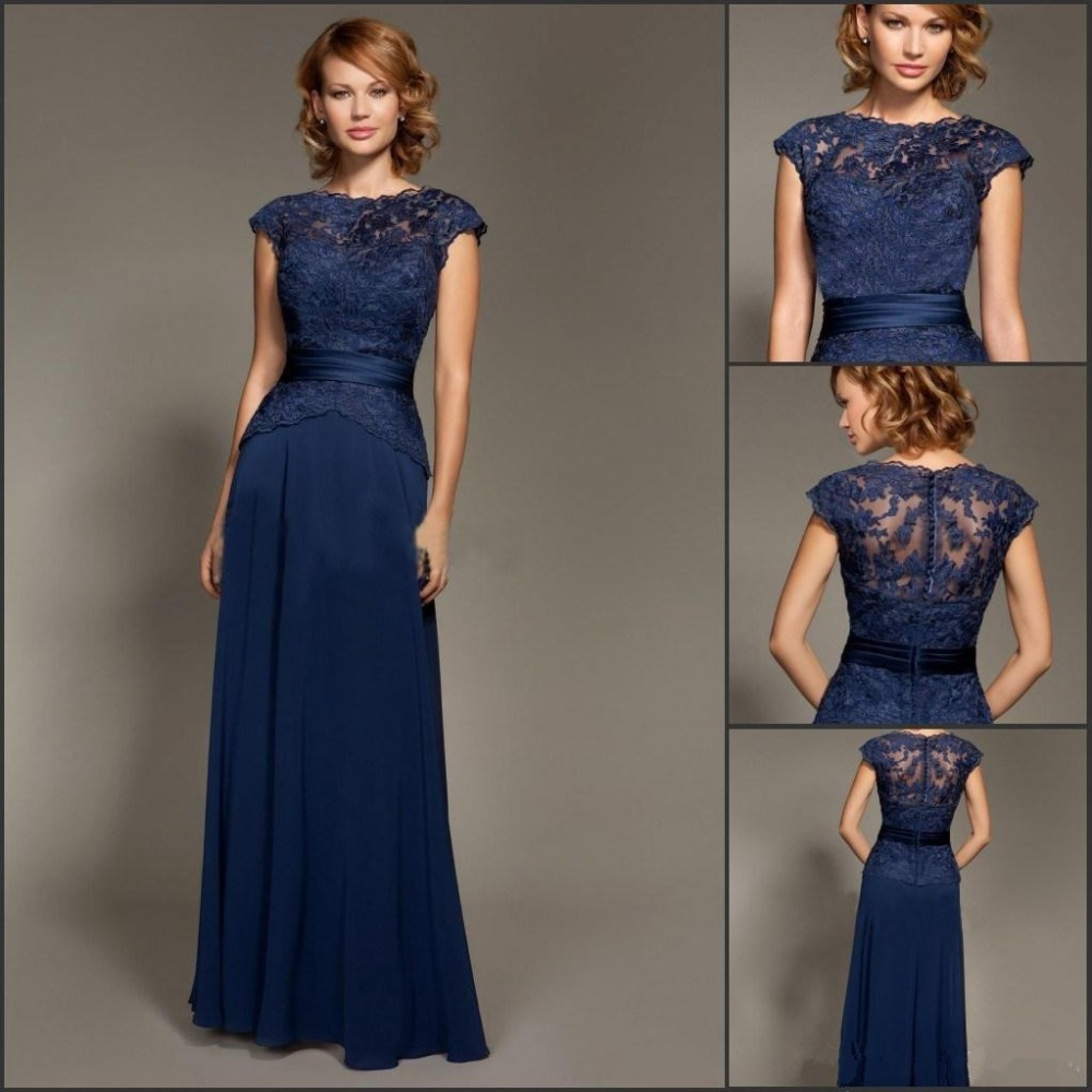 Mother of the Bride Navy Dress