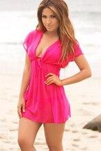 B210 camisas de Las Mujeres tres colores disponibles pareo playa de baño de Excelente calidad al por mayor y al por menor de Las Mujeres blusas 2016 de verano