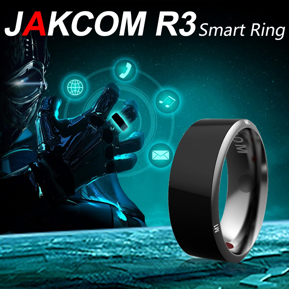 Hot!Jakcom R3 Smart Ring 3-proof App Enabled Wearable Technology Magic Ring For iOS Android Windows NFC Phone Smart Accessories