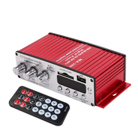 MA120 Motorcycle 12V Card Insertion Background Music Power Amplifier Car Digital USB Reader Audio Amplifier Speaker