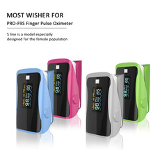 цена на PRO-F9S Home Health Monitor Pulse Oximeter Finger Oxygen Fingertip Pulse Oximeter SPO2 Finger Oximeter Multiple Colors