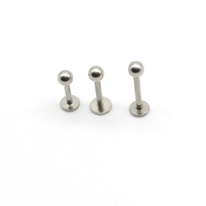 Covet Jewelry Basic Spike Top Steel Horseshoe Circular Barbell , Ball: 4mm 10mm 16GA, Length: 3//8