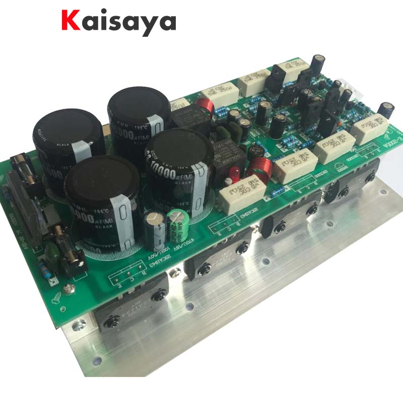 500W 2.0 dual channel high fidelity Sanken tube audio 3858 1494 rear high power amplifier board