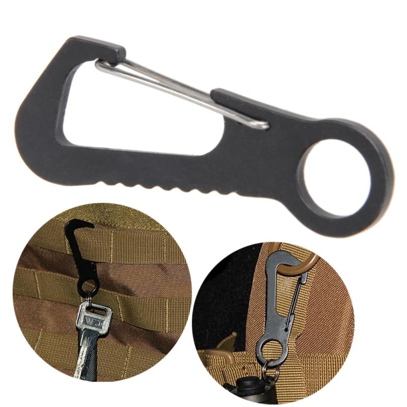 1Pcs Titanium Alloy Mini Tweezers Clips Outdoor Travel Ultra-Light EDC Tools MEC