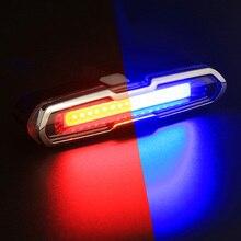 USB Перезаряжаемые спереди и сзади Велосипедные фары литиевых Батарея светодиодный задний фонарь для велосипеда Велоспорт Шлем свет лампы Гора Аксессуары для велосипеда