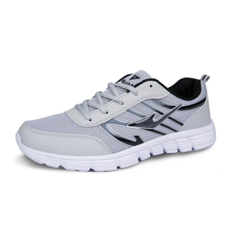 74d72e3d9 Detail Feedback Questions about 2018 New Hot Light weight Running Shoes  White Men Sport Shoes SMART CHIP Mens Black Sneakers Brand Man Walking Sports  Shoes ...