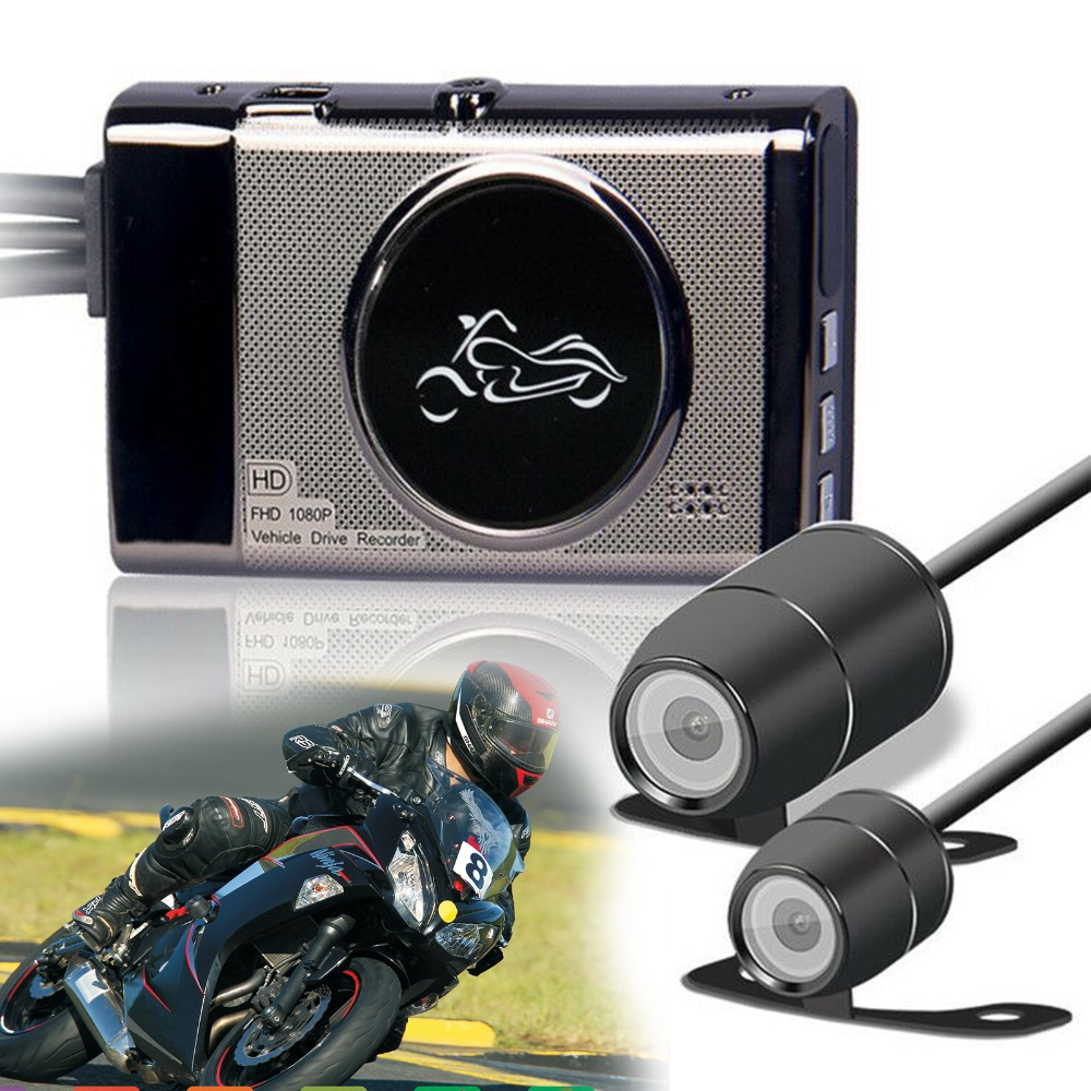 M19 Cool Motorcycle 1080P Front 720P Rear Dual Round mini Camera DVR Motor Dash Cam Special Front Rear camera Recorder MotorbikeM19 Cool Motorcycle 1080P Front 720P Rear Dual Round mini Camera DVR Motor Dash Cam Special Front Rear camera Recorder Motorbike