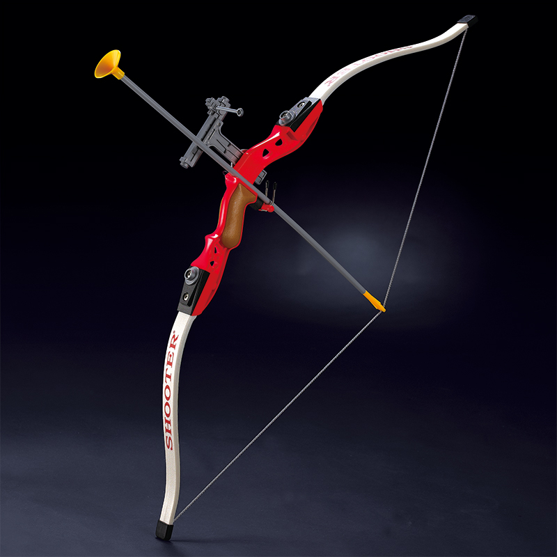 Children Simulation Archery Recurve Bow Brown Red Blue Sucker Arrows Kids Gift Safe Outdoor Sports Shooting Bows Christmas Gift finger rock blue enchantress simulation flower assembly model 3d metal puzzle never fade red rose stainless steel jigsaw gift