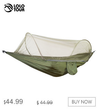Camp Sleeping Gear Portable Outdoor Camping Hammock With Mosquito Net Parachute Fabric Simple Tent In The Tree Outdoor Travel Picnic Hiking Bright In Colour