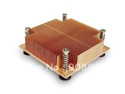 New CPU Cooler Processor Socket 775  for 1U server wavelets processor
