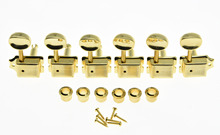KAISH Vintage Guitar Tuning Keys Guitar Tuners Machine Heads for ST TL Gold
