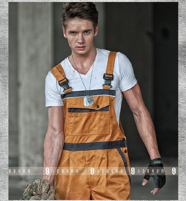 New High quality  Mens work overalls bib overall wear resisting twill workwear free shippingNew High quality  Mens work overalls bib overall wear resisting twill workwear free shipping