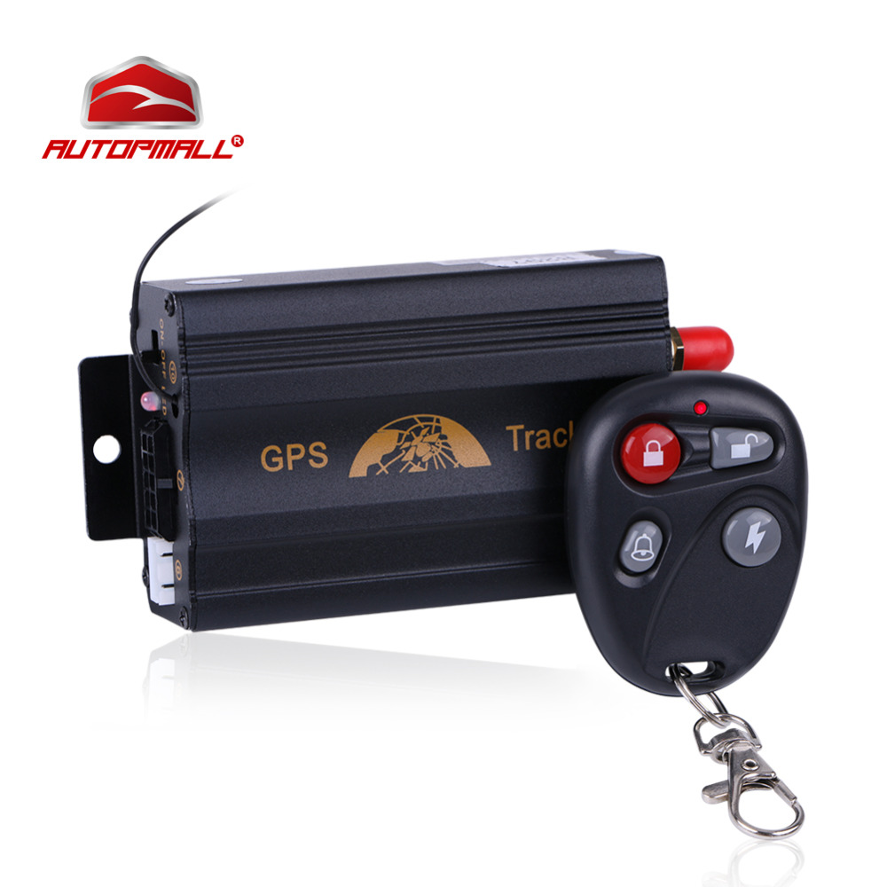 Motorcycle GPS Tracker Car Vehicle Tracker GPS Tracking Device Coban TK103B 2G Cut Off Engine Voice Monitor Shock Alert FREE APP купить недорого в Москве