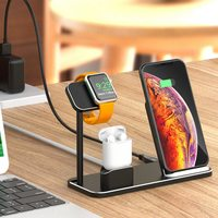 KISSCASE 3 IN 1 Desk Holder Charger For Apple Watch Series 1 2 3 Watch Band Mount Stand Charging Smart Watch Bracket Holders