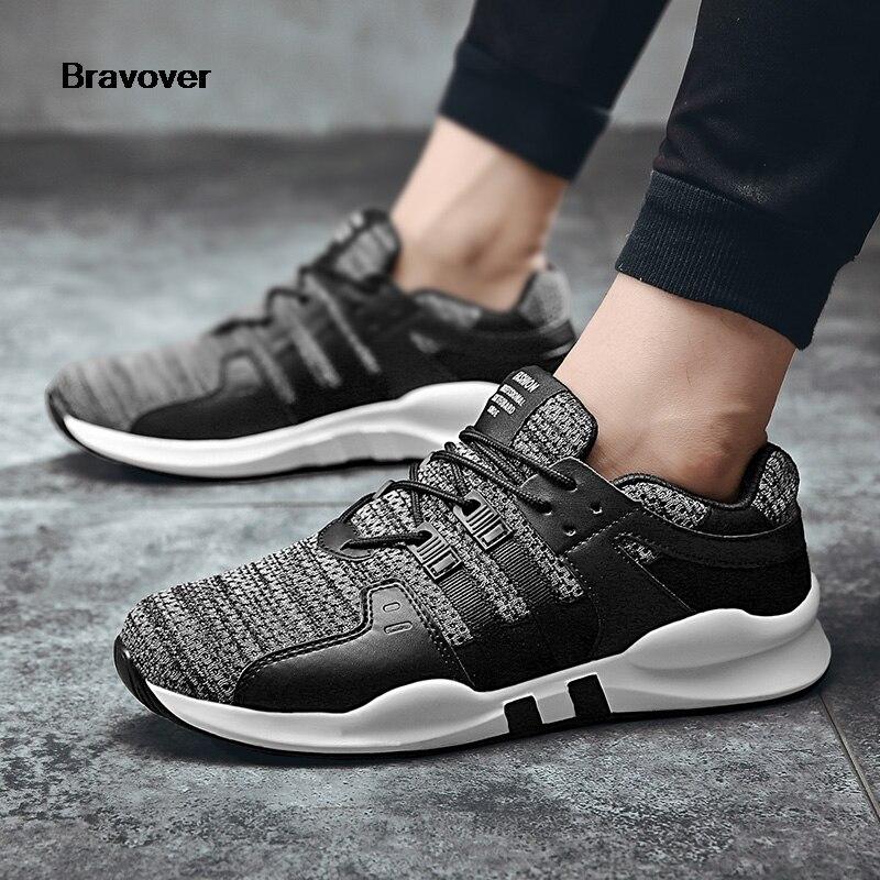 7a2f63c56 Venda quente Homens Tênis Respirável Tênis de Corrida Sapatos Para Homens  Ao Ar Livre Confortáveis Sapatos de Desporto Sapatos de Corrida de  Atletismo ...