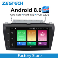 9 Android 8.0 2 din Auto radio GPS for Mazda 3 Axela 2004 2005 2006 2007 2008 2009 Auto PC Car Video Player DVD IPS screen