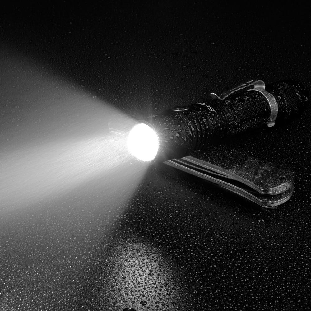 Image 5 - Sofirn sp31 v2.0 poderosa tactical lanterna led 18650 cree xpl hi  1200lm tocha lâmpada de luz com interruptor duplo indicador de  alimentação atrLanternas