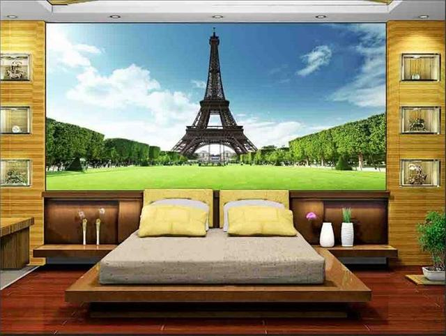 Customized 3D wallpaper for wallpaper 3d wall murals Eiffel Tower
