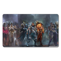 High Quality Limited Edition Planswalkers Magic The Gathering Cards Playmat 2MM Thickness Custom Printed MTG Cards