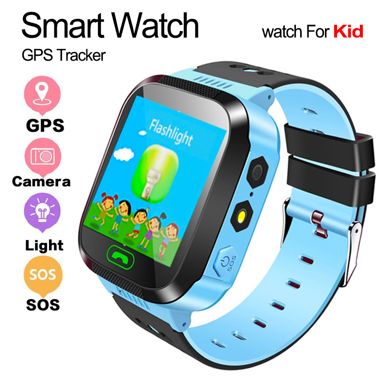 GPS Tracker <font><b>Kids</b></font> <font><b>Watch</b></font> Camera Flashlight Touch Screen SOS Call Location Baby Clock Children <font><b>Smart</b></font> <font><b>Watches</b></font> <font><b>Q528</b></font> Y21 2G SIM Card image