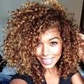 Длинные Вьющиеся Синтетические Парики Для Чернокожих Женщин Последней Моде Афро Кудрявый Вьющиеся Натуральных Волос Дешевые Парики Синтетический Парик