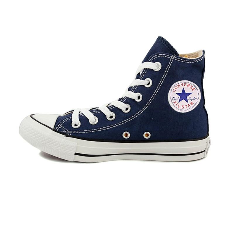 D'origine Converse all star chaussures hommes et femmes espadrilles de toile chaussures hommes femmes haute classique Planche À Roulettes Chaussures livraison gratuite - 6
