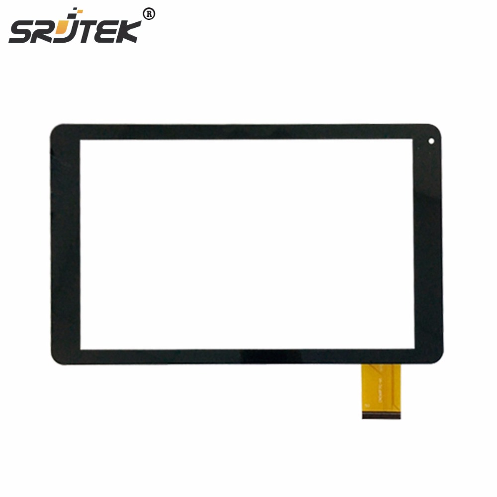 Srjtek New 10.1 inch Tablet PC Screen For CN068FPC-V1 SR Touch Screen Digitizer Replacement Panel Parts new 9 touch screen digitizer replacement for denver tad 90032 mk2 tablet pc