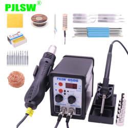PJLSW 8586 700 Вт ESD паяльная станция светодиодный цифровой припой паяльная станция BGA паяльная станция горячий воздушный пистолет сварщик