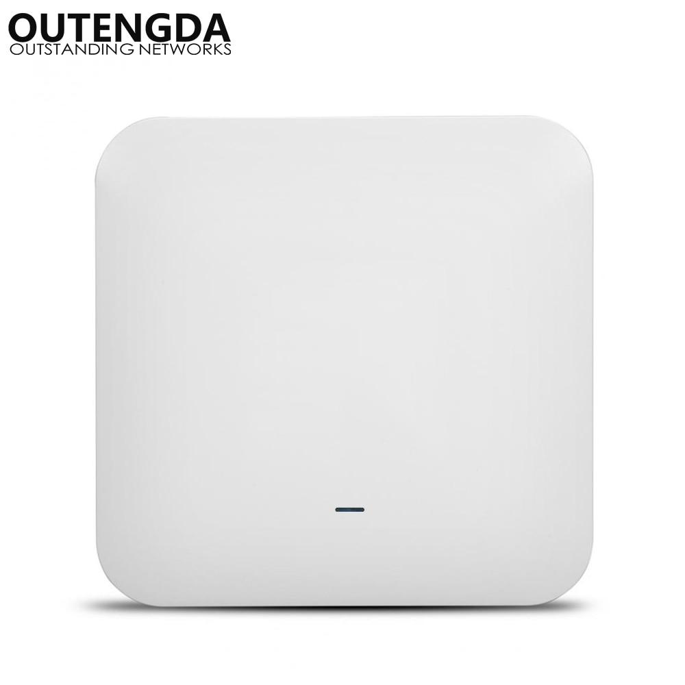 802.11ac 2.4G & 5.8G double bande 750Mbps montage au plafond PoE WiFi AP routeur Point d'accès sans fil-adaptateur PoE en option