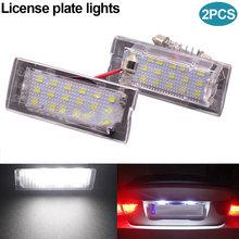 Новый 2 предмета LED номерных знаков свет лампы для BMW X5 E53 99-06X3 E83 03-10 dxy88