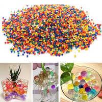 JIMITU 10000pcs/bag Crystal Soil Hydrogel Gel Polymer Orbiz Water Beads Flower/Wedding/Decoration Maison Growing Water Balls