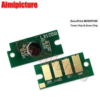 CT350973 unidad de tambor Chip para Xerox DocuPrint M355 P355 355 imágenes Reajuste de unidad de tambor Chip 100K 5 unids/lote