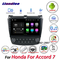 Liandlee Car Android System For Honda For Accord 7 2002~2007 Radio Video BT GPS Map Navi Navigation Stereo Multimedia No CD DVD