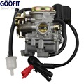 GOOFIT 18mm Carburetor for Scooter Carb GY6 50cc 60cc 80cc Chinese 139qmb Moped 49cc 60cc Carburettor N090-073-1