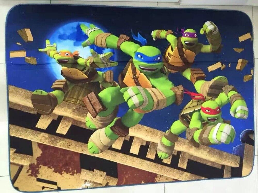 Free Shipping Anti Slip Floor Carpet Ninja Turtle/International Raw/Batman/Hello  Kitty