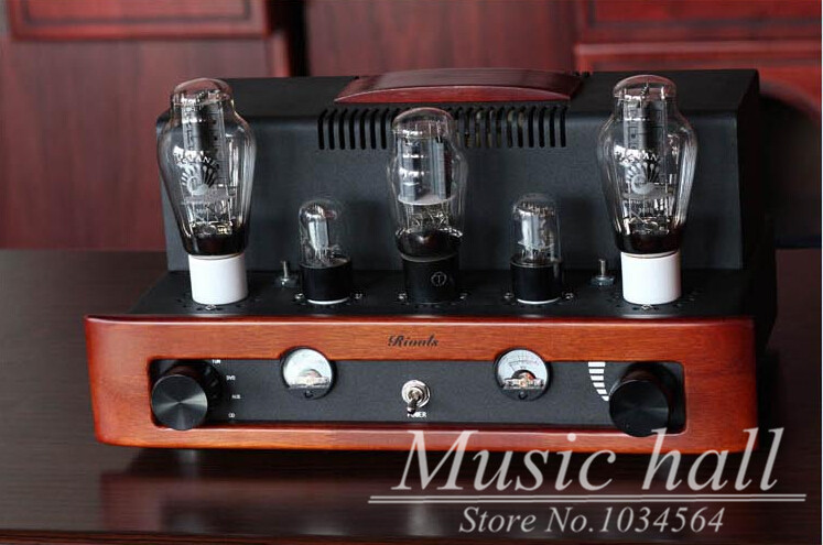 Music Hall Rivals Wooden Front Panel PSVANE 300B Class A Single-ended Power Stereo Tube Amplifier HIFI Audio AMP 8W*2 music hall latest appj assembled fu32 tube amplifier audio single ended class a power amp board hifi diyer free shipping
