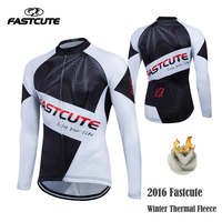 Fastcute Sunny Winter Cycling Jerseys Ropa De Ciclismo Cycling Wear Winter Thermal Fleece Cycling Clothing MTB