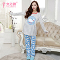 the new 2016 Nursing Pajamas Maternity Dress Autumn winter Pajamas  Pregnant Women Breastfeeding Clothes  Pajamas suit