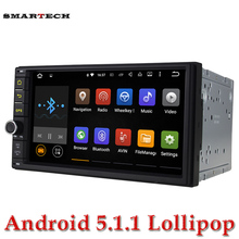 Autoradio 2Din 7 Inch Screen Android 5.1 Lollipop car stereo gps for nissan qashqai kia toyota head unit car bluetooth 3G wifi