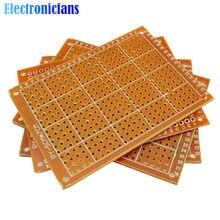 Circuit imprimé universel 5x7, 5x7, 50x70mm, 2.54mm, pour bricolage, 10 pièces/lot
