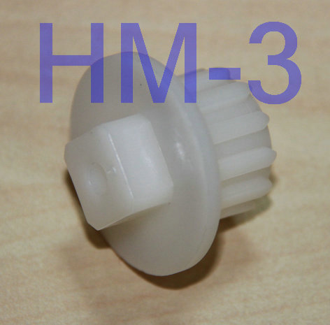 3 pcs/lot Free Shipping Meat Grinder Parts Plastic Gear fit Zelmer A861203, 86.1203, 9999990040,420306564070, 996500043314  5th