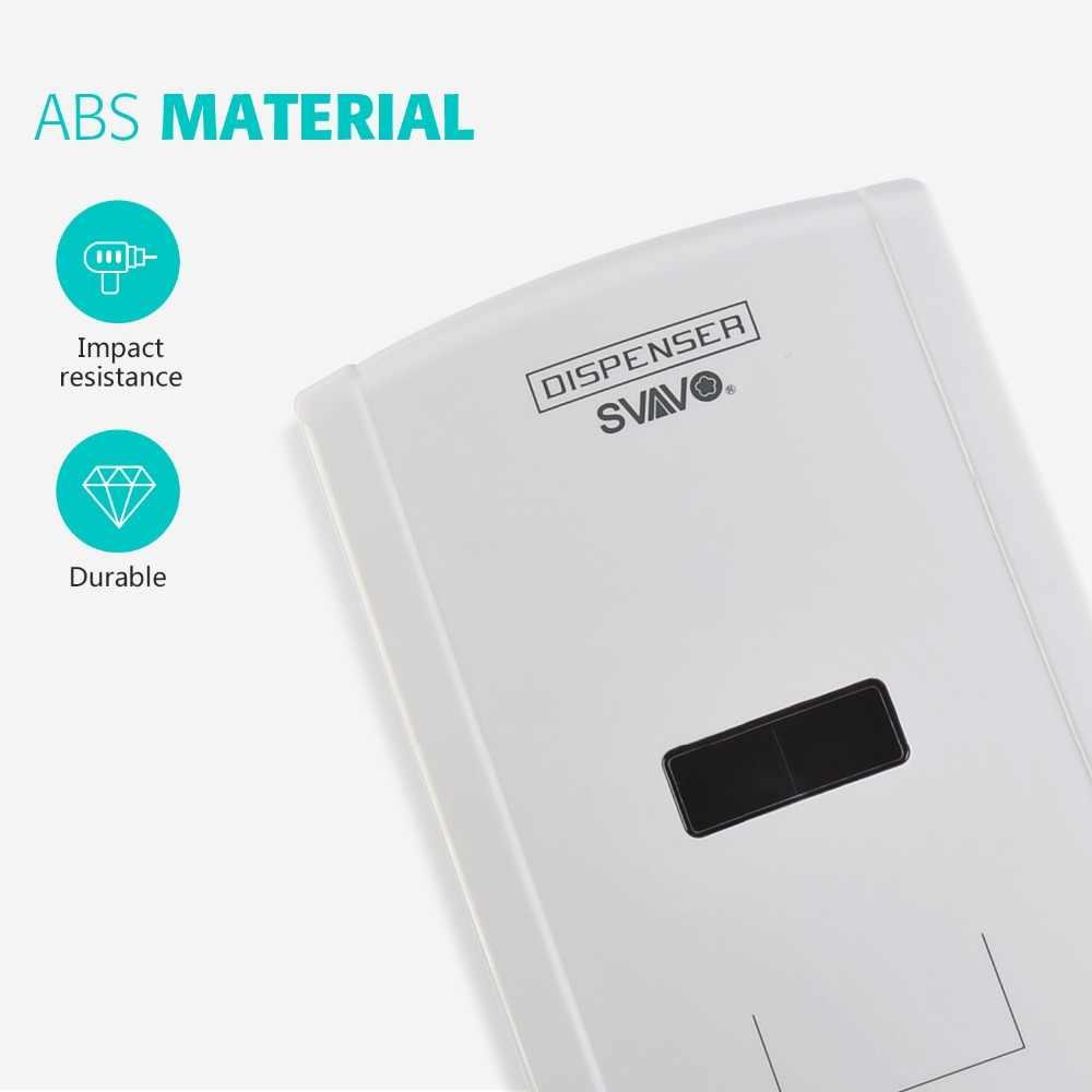 1300 мл настенный сенсорный Бесконтактный автоматический дозатор мыла кухонный инфракрасный индукционный умный дозатор жидкого мыла